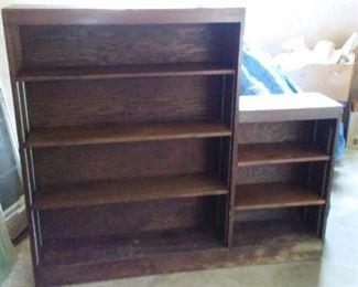 One-piece bookshelf.