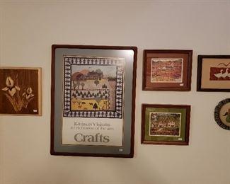 Lots of folk art