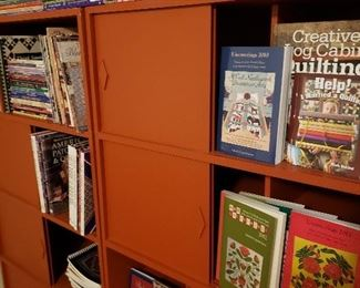 Hundreds of quilting books