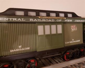 Detail of car from Jim Beam train decanter set (5 pieces)