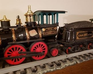 Jim Beam train decanter set (5 pieces)