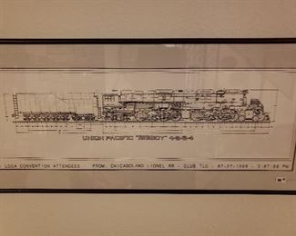 Lionel train mechanical drawing
