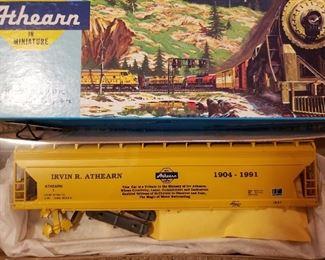 Very Rare Irvin Athearn tribute HO train car