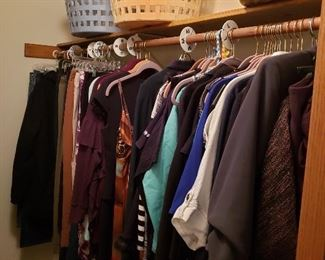 LOTS of high-end women's clothing