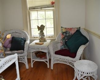 Wicker Chairs, Wicker Table, Checkers & Boards, Garden Angel, Throw Pillows