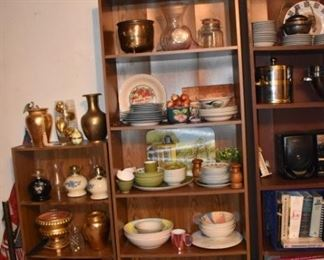 Pottery and Vases and Dishware