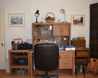 Overview Office Chairs, Desk Radios, Lamps, Cash Boxes Jewelry Boxes, Linens, Doll Rocker, Ban or Short Wave Radio, Sony Radio