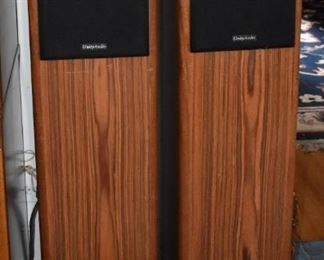 Unity Audio Tower Speakers downward sub bass driver