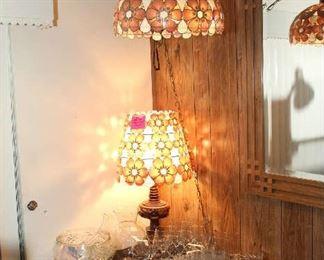 Matching Shell Lamps