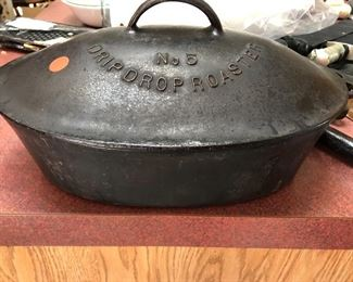 Cast iron vintage cookware