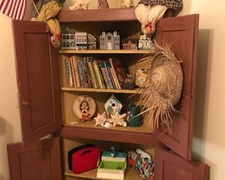 Great corner cabinet