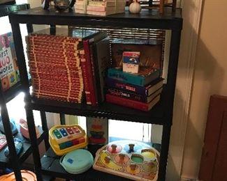 Children's books, dolls, toys, games