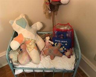 Vintage child's crib
