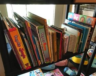 Lots of great children's books, new and vintage