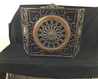 Decorative fireplace screen https://ctbids.com/#!/description/share/234866