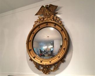 Vintage Federal convex mirror