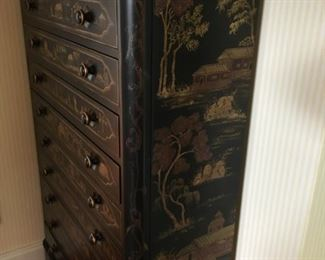 Side view  of Chinoiserie