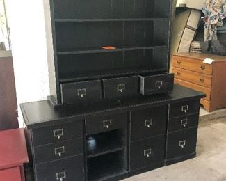 AWESOME 3 PIECE DESK GREAT STORAGE