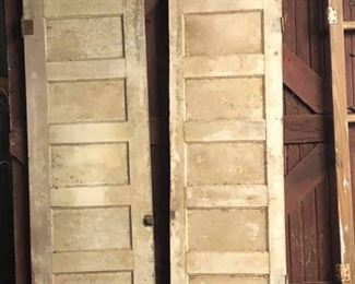 Matching doors
