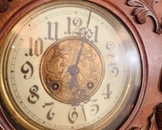 1880s Walnut Clock