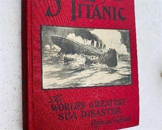 Titanic book