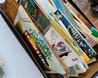 vintage post cads