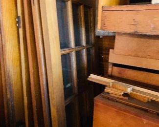 wooden pocket doors