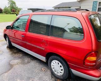 1099 Ford Windstar minivan
