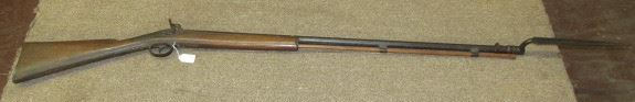Mid 1800's Military Rifle w/Bayonet
