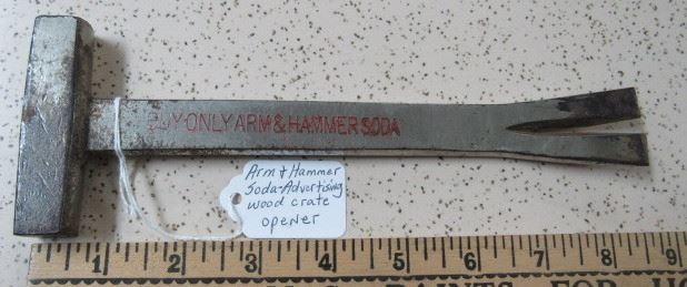 Buy Only Arm & Hammer Soda Advertising Wood Crate Opener