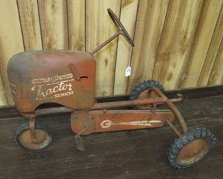 Metal Pedal Tractor
