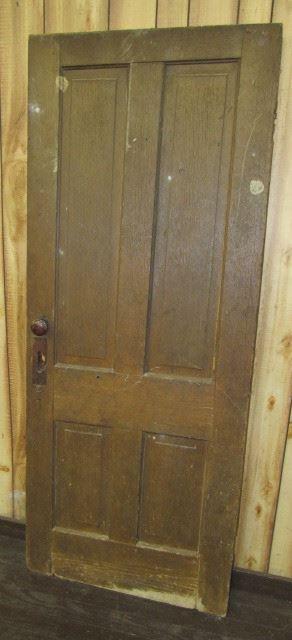 Early 1900's Wood Door