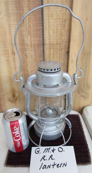 G.M. & O. Railroad Lantern
