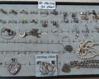 Sterling Jewelry - ALL 1 LOT