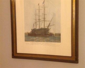 vintage ship picture