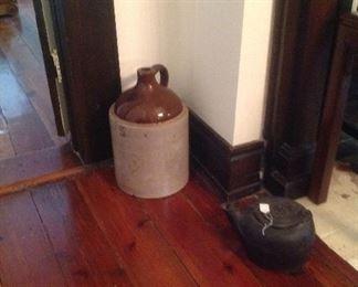 #5 pottery jug