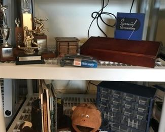 Vintage Office Supplies and Furnishings