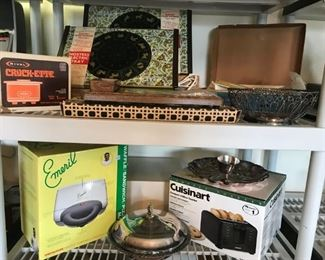 Vintage and New Appliances, Most never used
