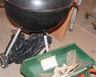 Weber grill, spreader