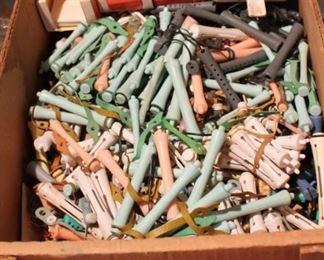 Vintage perm rods