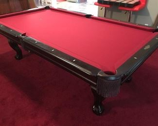 8' C.L.Bailey Billards Table Excellent Condition- Super Deal!!