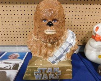Star Wars Chewbacca cookie jar
