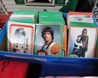Vintage Star Wars trading cards