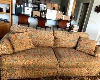 Partial down sofa
