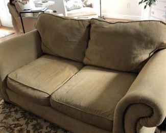 Partial Down Love seat
