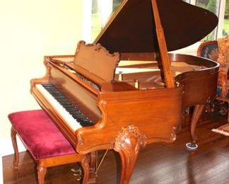 Sohmer Pretty French Baby Grand Piano