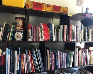 Tons of books to choose from!