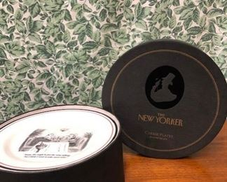 New Yorker Plates- Set of 6