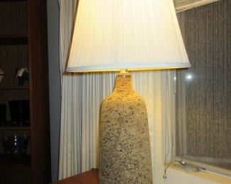Pair of cork table lamps (#1)