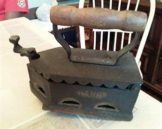Vintage Coal Iron